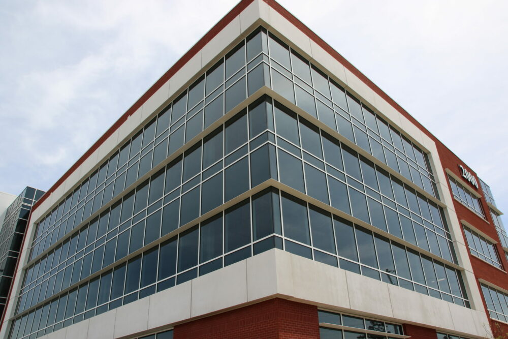 Medical Building Glass